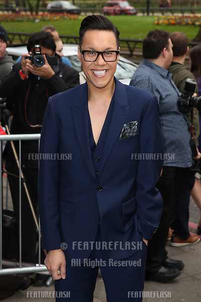 Gok Wan at The Asian Awards 2014 held at Grosvenor House Hotel, London. 04/04/2014 Picture by: Henry Harris / Featureflash