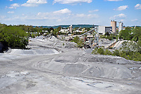 Limestone quarry, Lancaster, PA, Pennsylvania, USA