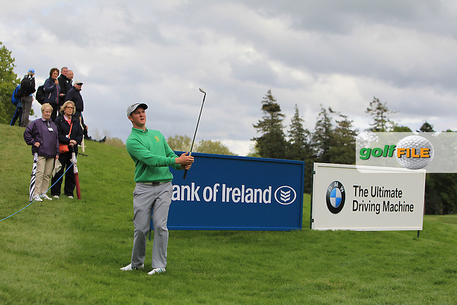 John-Ross Galbraith (AM)(IRL) on the 17th during Round 1 of the Dubai Duty Free Irish Open presented  by the Rory Foundation at The K Club, Straffan, Co. Kildare<br /> Picture: Golffile | Thos Caffrey<br /> <br /> All photo usage must carry mandatory copyright credit <br /> (&copy; Golffile | Thos Caffrey)