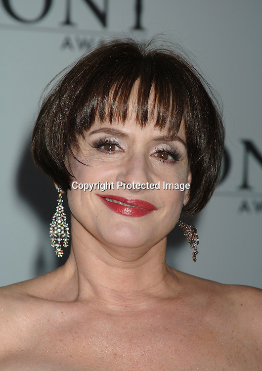 Patti LuPone..arriving at the 60th Annual Tony Awards on June11, 2006..at Radio City Music Hall. ..Robin Platzer, Twin Images
