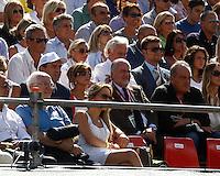 NAPOLI 15/09/2012.PLAY OFF DI COPPA DAVIS DI TENNIS  TRA ITALIA E CILE.NELLA FOTO .FOTO CIRO DE LUCA