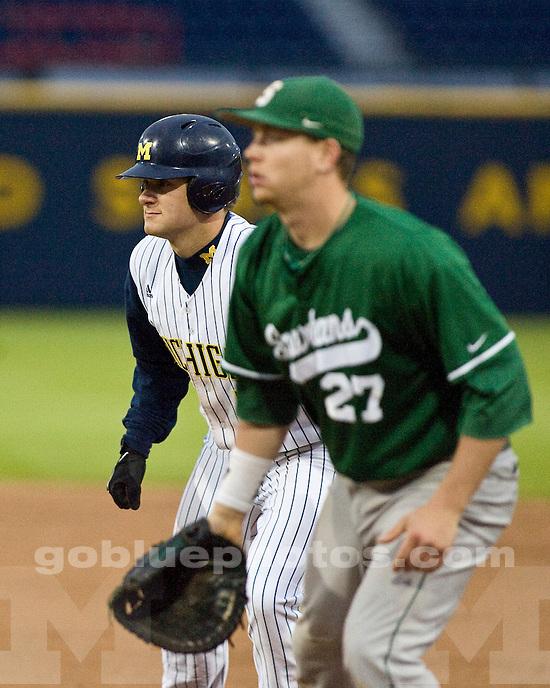 University of Michigan Baseball 13-10 loss to Michigan State University at the Wilpon Baseball Complex on 5/12/2010.