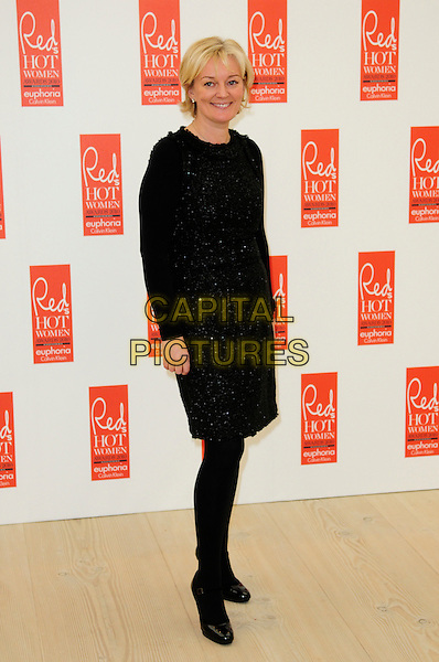 JO MALONE.attends Red magazine's 'Red Hot Women Awards' at the Saatchi Gallery, London, England, UK, .November 30th 2010..full length black dress tights shoes .CAP/CAS.©Bob Cass/Capital Pictures.