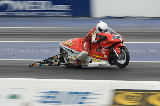 ENGLISHTOWN, NJ - JUNE 17: Paul Gast during Pro Stock Motorcycle Qualifying at the K&N Filters NHRA Supernationals at Old Bridge Township Raceway Park, Englishtown, New Jersey on June 17, 2006.
