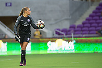 Orlando, FL - Tuesday August 08, 2017: Camila Martins Pereira during a regular season National Women's Soccer League (NWSL) match between the Orlando Pride and the Chicago Red Stars at Orlando City Stadium.