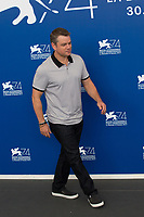 "Matt Damon at the ""Suburbicon"" photocall, 74th Venice Film Festival in Italy on 2 September 2017.<br /> <br /> Photo: Kristina Afanasyeva/Featureflash/SilverHub<br /> 0208 004 5359<br /> sales@silverhubmedia.com"
