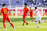 Liu Yang of China (C) in action during the AFC Asian Cup UAE 2019 Group C match between China (CHN) and Kyrgyz Republic (KGZ) at Khalifa Bin Zayed Stadium on 07 January 2019 in Al Ain, United Arab Emirates. Photo by Marcio Rodrigo Machado / Power Sport Images