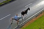 Transporte em carroça, Jundiaí, São Paulo. 2004. Foto de Juca Martins.