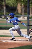 Leodys Taveras - 2016 Texas Rangers (Bill Mitchell)