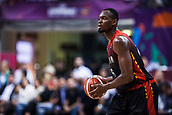 5th September 2017, Fenerbahce Arena, Istanbul, Turkey; FIBA Eurobasket Group D; Turkey versus Belgium; Center Kevin Tumba #16 of Belgium in action during the match