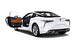 Car images close up view of 2018 Lexus LC 500 4 Door Sedan doors