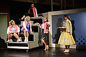"London, UK. 11.06.2015. Mountview Academy of Theatre Arts presents ""GREASE"" (Cast One), at Bernie Grant Arts Centre, Tottenham. Book, Music & Lyrics by Jim Jacobs and Warren Casey, directed by Jeremy Lloyd Thomas. Lighting design by Ben Pickersgill with set and costume design by Colin Moyes. Photograph © Jane Hobson."
