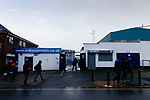 Oldham fans leave Boundary Park after the game. Oldham v Portsmouth League 1