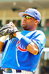 3 July 2005: Neifi Perez, shortstop for the Chicago Cubs, prepares for a game against the Washington Nationals. The Nationals defeated the Cubs 5-4 in 12 innings to sweep the 3-game series at Wrigley Field in Chicago, IL. Mandatory Photo Credit: Ed Wolfstein