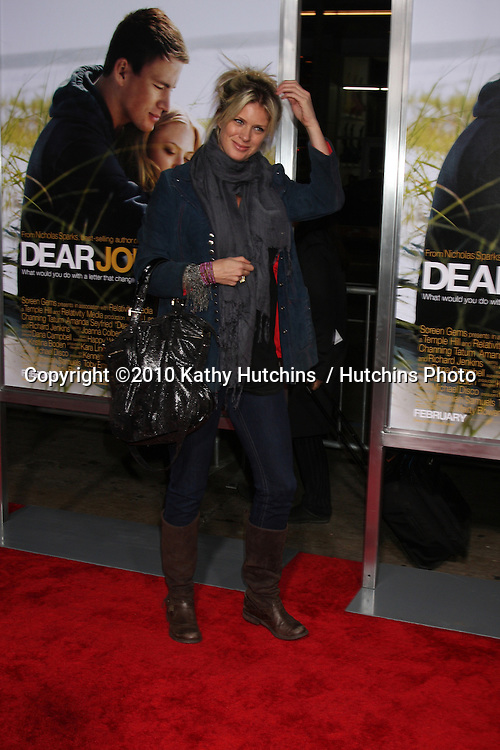 "Rachel Hunter.arriving at the ""Dear John"" Premiere.Grauman's Chinese Theater.Los Angeles, CA.February 1, 2010.©2010 Kathy Hutchins / Hutchins Photo...."