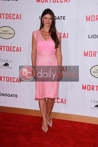 "Danielle Vasinova<br /> at the ""Mortdecai"" Los Angeles Premiere, TCL Chinese Theater, Hollywood, CA 01-21-15<br /> David Edwards/Dailyceleb.com 818-249-4998"