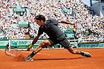 Roland Garros. Paris, France. May 28th 2012.Swiss player Roger FEDERER against Tobias KAMKE..