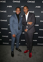 CULVER CITY, CA - MARCH 7: Arlen Escarpeta, Cory Hardrict, pictured at Crackle's The Oath Premiere at Sony Pictures Studios in Culver City, California on March 7, 2018. <br /> CAP/MPIFS<br /> &copy;MPIFS/Capital Pictures