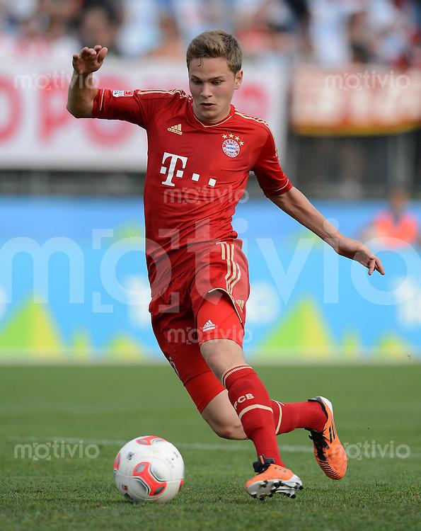 Fussball 1. Bundesliga:  Saison  Vorbereitung 2012/2013     Trainingslager des FC Bayern Muenchen 17.07.2012 Testspiel:  FC Bayern Muenchen - Trentino Auswahl Benno Schmitz (FC Bayern Muenchen)