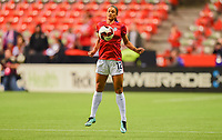 Vancouver, Canada - Thursday November 09, 2017: Lynn Williams during an International friendly match between the Women's National teams of the United States (USA) and Canada (CAN) at BC Place.