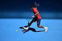 25th January 2020; Melbourne Park, Melbourne, Victoria, Australia; Australian Open Tennis, Day 6; Gael Monfils during his win over Ernests Gulbis
