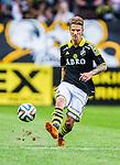 Solna 2014-07-12 Fotboll Allsvenskan AIK - Kalmar FF :  <br /> AIK:s Martin Lorentzson i aktion <br /> (Foto: Kenta J&ouml;nsson) Nyckelord:  AIK Gnaget Friends Arena Kalmar KFF portr&auml;tt portrait