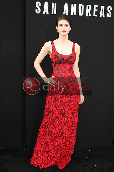 """Alexandra Daddario<br /> at the """"San Andreas"""" Los Angeles Premiere, TCL Chinese Theater, Hollywood, CA 05-26-15<br /> David Edwards/DailyCeleb.Com 818-249-4998"""