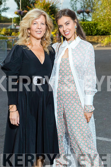 Jacqueline and Barbara Ella Higgins (The Kerries, Tralee) at the Rose of Tralee fashion show at the dome on Sunday night.