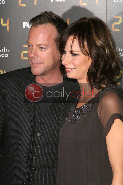 Kiefer Sutherland and Mary Lynn Rajskub<br />