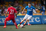 Glasgow Rangers (in blue) vs HKFA Red Dragons (in red), during their Main Tournament match, part of the HKFC Citi Soccer Sevens 2017 on 27 May 2017 at the Hong Kong Football Club, Hong Kong, China. Photo by Marcio Rodrigo Machado / Power Sport Images