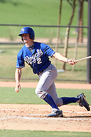 Wil Myers - Kansas City Royals - 2010 Instructional League.Photo by:  Bill Mitchell/Four Seam Images..