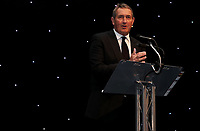 Graham Gooch hosts the awards evening during the Essex CCC 2017 Awards Evening at The Cloudfm County Ground on 5th October 2017