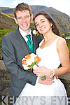 Aoife O'Connor, daughter of John and Ann, Gortbee, Beaufort and John McNamara, son of Denis and Geraldine, Sundays Well, Cork who were married in the Black Valley church, Beaufort on Friday. Canon Michael Fleming officiated at the ceremony.  Bestman was Timmy McNamara. Groomsman was Frank McNamara. Bridesmaids were Annie and Peig O'Connor. The reception was held in Jacks Coastguard Station, Cromane. The couple will reside in Cork.  ............................................................................................