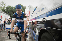 Tony Martin (DEU/Etixx-QuickStep) warming down on the rollers post-TTT<br /> <br /> 12th Eneco Tour 2016 (UCI World Tour)<br /> stage 5 (TTT) Sittard-Sittard (20.9km) / The Netherlands