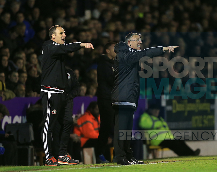 Sheffield United's NIgel Adkins in action during the League One match at Roots Hall Stadium.  Photo credit should read: David Klein/Sportimage