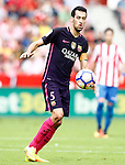 FC Barcelona's Sergio Busquets during La Liga match. September 24,2016. (ALTERPHOTOS/Acero)
