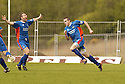 20040508    Copyright Pic: James Stewart.File Name : jspa09_clyde_v_ict.CRAIG MACMILLAN (RIGHT) CELEBRATES AFTER SCORING CALEY'S WIINNER....James Stewart Photo Agency 19 Carronlea Drive, Falkirk. FK2 8DN      Vat Reg No. 607 6932 25.Office     : +44 (0)1324 570906     .Mobile  : +44 (0)7721 416997.Fax         :  +44 (0)1324 570906.E-mail  :  jim@jspa.co.uk.If you require further information then contact Jim Stewart on any of the numbers above.........