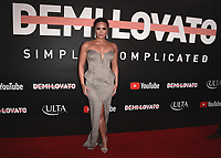 "LOS ANGELES- OCTOBER 11:  Demi Lovato at the premiere of ""Demi Lovato: Simply Complicated"" at The Fonda Theatre on October 11, 2017 in Los Angeles, California. (Photo by Scott Kirkland/PictureGroup)"
