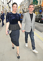 Mary McCartney and Simon Aboud at the Stella McCartney new eco-friendly flagship store opening party, Stella McCartney, Old Bond Street, London, England, UK, on Tuesday 12 June 2018.<br /> CAP/CAN<br /> &copy;CAN/Capital Pictures