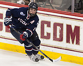 David Drake (UConn - 5) - The Boston College Eagles defeated the visiting UConn Huskies 2-1 on Tuesday, January 24, 2017, at Kelley Rink in Conte Forum in Chestnut Hill, Massachusetts.