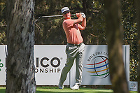 Charley Hoffman (USA) watches his tee shot on 16 during the preview of the World Golf Championships, Mexico, Club De Golf Chapultepec, Mexico City, Mexico. 2/28/2018.<br /> Picture: Golffile | Ken Murray<br /> <br /> <br /> All photo usage must carry mandatory copyright credit (&copy; Golffile | Ken Murray)