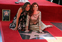 05 October 2017 - Hollywood, California - Mariska Hargitay, Debra Messing. Debra Messing Honored With Star On The Hollywood Walk Of Fame. <br /> CAP/ADM/FS<br /> &copy;FS/ADM/Capital Pictures