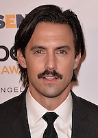 BEVERLY HILLS - OCTOBER 21:  Milo Ventimiglia at the 2016 GLSEN Respect Awards at Beverly Wilshire Four Seasons Hotel at The Grove on October 21, 2016 in Beverly Hills, California. Credit: mpi991/MediaPunch