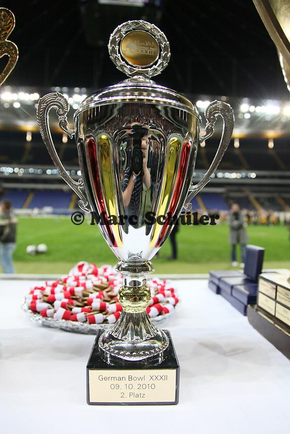 Pokal für den Finalisten