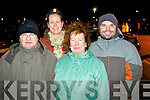 Pictured at the Aquadome fireworks on New Year's Eve were l-r: John Conway, Julie Conway Anne Conway and Andrew Conway.