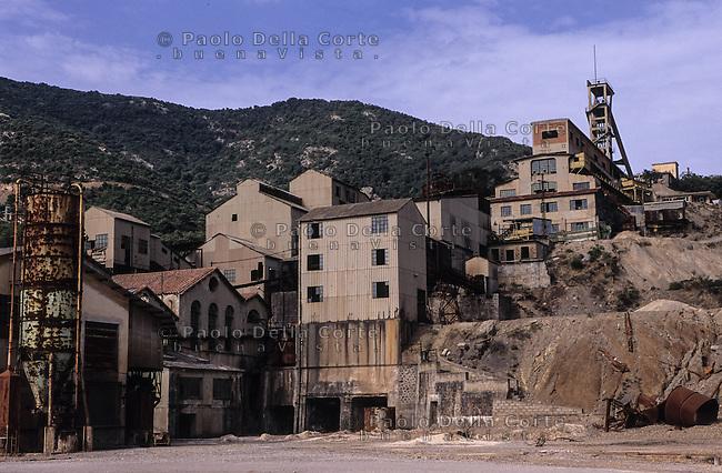 Montevecchio - panoramica degli stabilimenti minerari<br /> &copy;&nbsp;Paolo della Corte