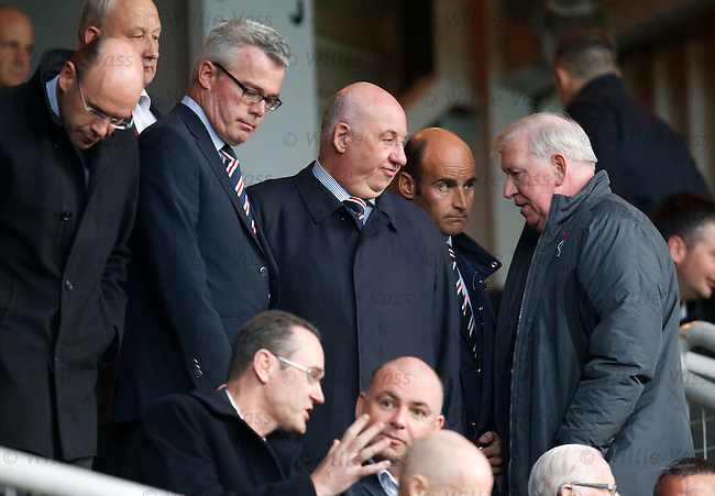 The five Rangers independent board of directors in the stand