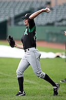June 13th 2008:  Jamie Arneson of the Dayton Dragons, Class-A affiliate of the Cincinnati Reds, during a game at Stanley Coveleski Regional Stadium in South Bend, IN.  Photo by:  Mike Janes/Four Seam Images