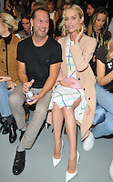 guest and Eva Herzigova at the Mary Katrantzou LFW s/s 2017 catwalk show, BFC Show Space, Brewer Street Car Park, Brewer Street, London, England, UK, on Sunday 18 September 2016.<br /> CAP/CAN<br /> &copy;CAN/Capital Pictures /MediaPunch ***NORTH AND SOUTH AMERICAS ONLY***