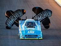 Feb 24, 2018; Chandler, AZ, USA; NHRA funny car driver Tim Wilkerson during qualifying for the Arizona Nationals at Wild Horse Pass Motorsports Park. Mandatory Credit: Mark J. Rebilas-USA TODAY Sports